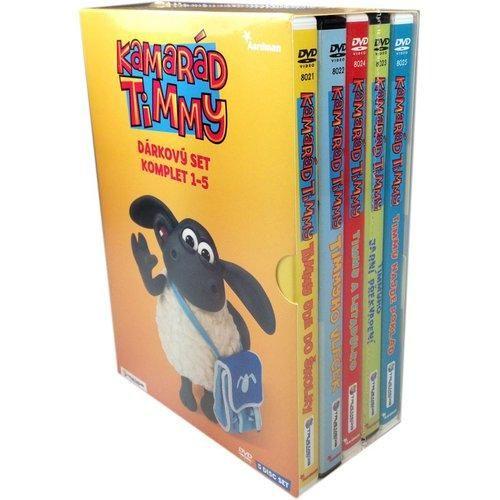 Ovečka Shaun DVD 5pack Timmy 1-5 subr