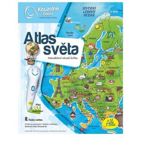 Otakar Brousek st.: ALBI Kouzelné čtení Kniha Atlas světa