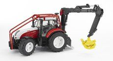 Bruder Steyr CVT 6230 lesní traktor cena od 850 Kč