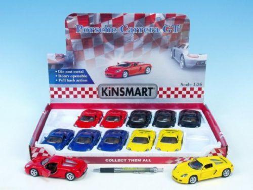 Mikro Auto Kinsmart Porsche Carrera GT 13 cm cena od 145 Kč