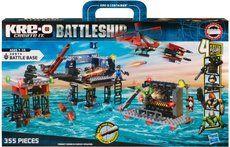 Hasbro KRE-O Battleship mořská pevnost s vrtulníkem cena od 849 Kč