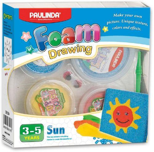 Alltoys Foam Drawing kreativní sada Slunce cena od 0 Kč