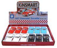 Kinsmart Chevrolet Corvette 1957 12,5 cm