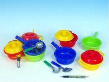 Mikro hračky Nádobí sada plast v síťce cena od 104 Kč