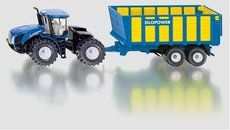 SIKU New Holland Joskin Farmer Traktor s přívěsem 1:50 cena od 490 Kč