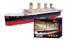 Legler 3D Titanic velký 133 dílků