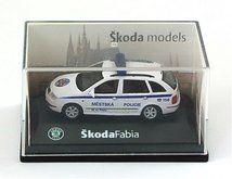 Abrex Škoda Fabia Combi Policie ČR 1:72