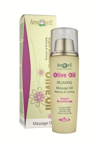 Aphrodite Skin Care Relaxační olivový masážní olej 100 ml