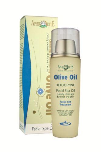 Aphrodite Skin Care Olivová detoxikační a čistící emulze na obličej a oblast očí 100 ml