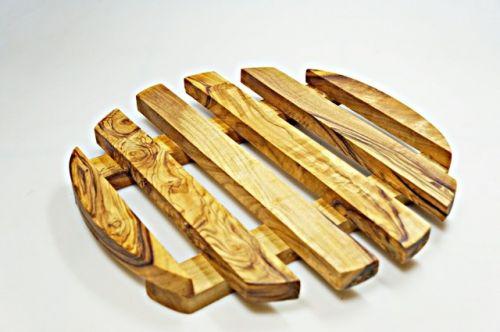ELIXIR Crete Podložka pod hrnec z olivového dřeva 20 cm cena od 561 Kč