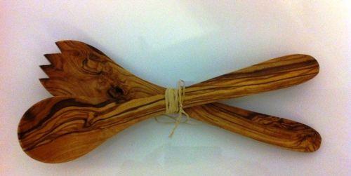 ELIXIR Crete Sada na salát z olivového dřeva 29 cm cena od 299 Kč