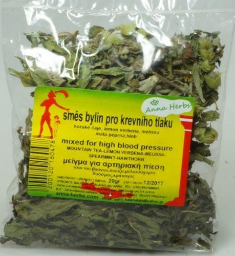 Anna Herbs Čajová směs bylin na vysoký krevní tlak 20 g