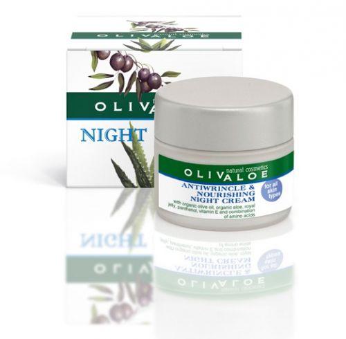 OlivAloe Olivový noční krém proti vráskám 40 ml