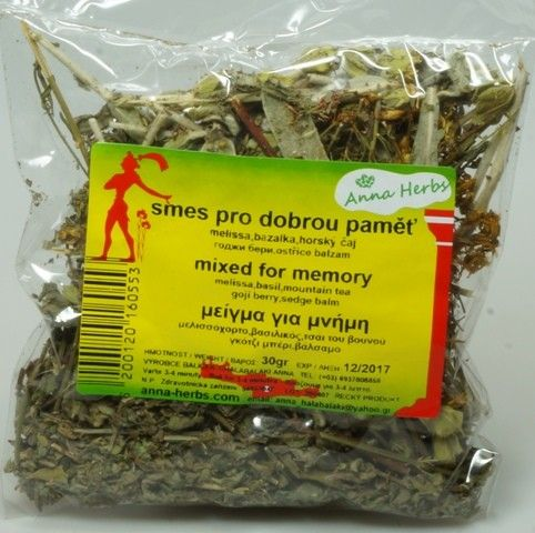 Anna Herbs Čajová směs bylin na paměť 30 g