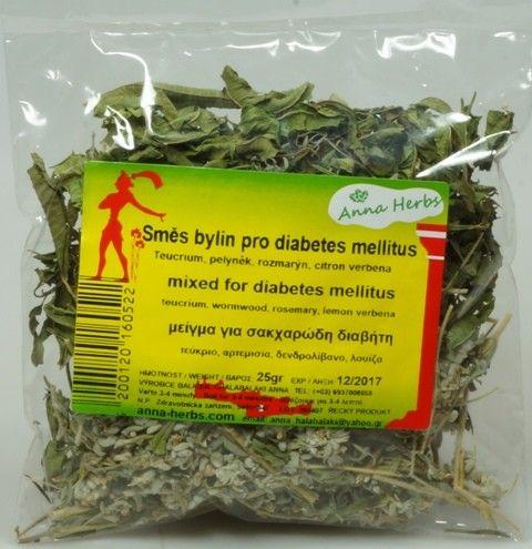 Anna Herbs Čajová směs bylin pro diabetiky 25 g