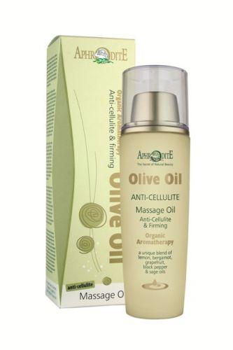 Aphrodite Skin Care Olivový masážní olej proti celulitidě 100 ml