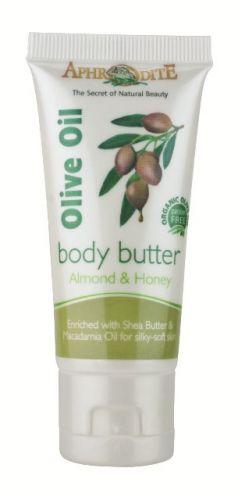 Aphrodite Skin Care Tělové olivové máslo mandle a med 30 ml