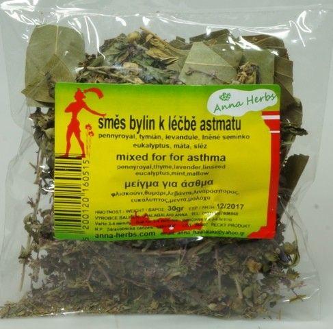 Anna Herbs Čajová směs bylin na astma 30 g