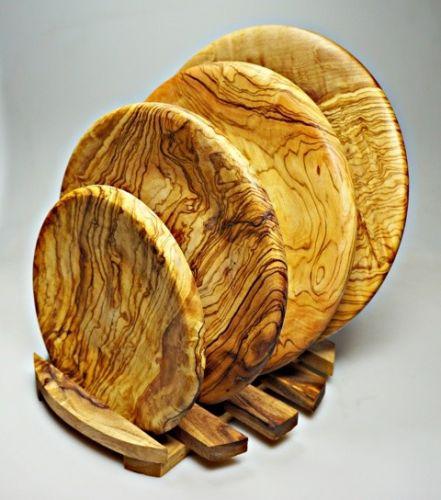 ELIXIR Crete Talíř z olivového dřeva 20 cm cena od 857 Kč