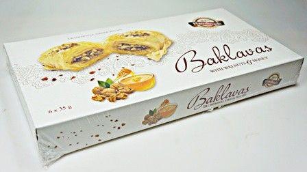 KSENIA Baklava s vlaškými ořechy a medem 210 g