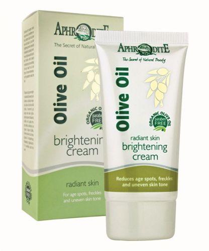 Aphrodite Skin Care Olivový rozjasňující krém 50 ml