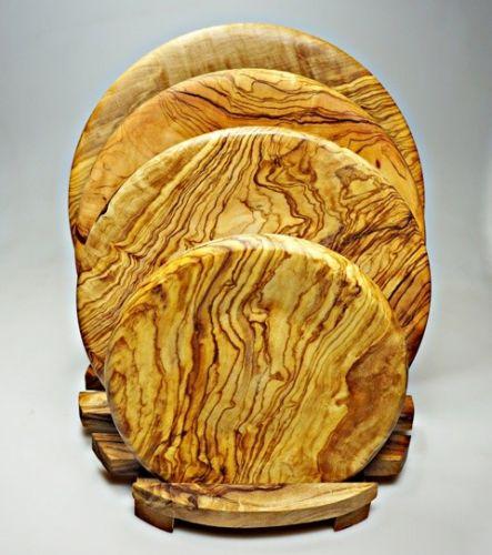 ELIXIR Crete Talíř dezertní z olivového dřeva 13 cm cena od 448 Kč