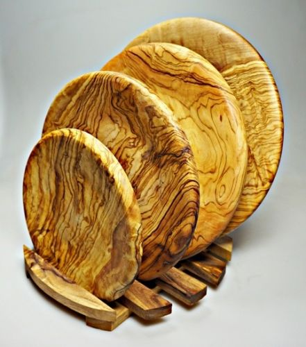 ELIXIR Crete Talíř z olivového dřeva 22 cm cena od 1043 Kč