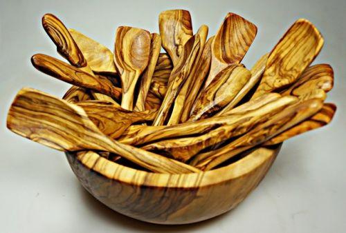 ELIXIR Crete Lžička na zmrzlinu z olivového dřeva 15 cm cena od 91 Kč