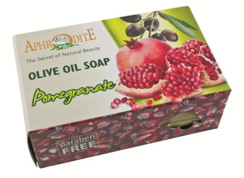 Aphrodite Skin Care Mýdlo olivové s granátovým jablkem 100 g