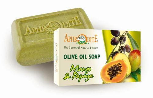Aphrodite Skin Care Mýdlo olivové s mangem a papayou 100 g