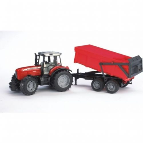Bruder Traktor MASSEY FERGUSON 7480 s valníkem cena od 790 Kč