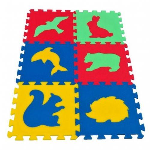 Malý Genius Pěnový koberec MAXI 6 Zvířata 4 cena od 220 Kč