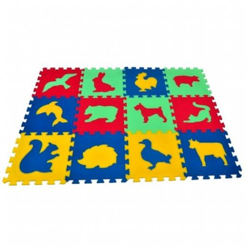 Malý Genius Pěnový koberec MAXI zvířata III.- IV. cena od 410 Kč