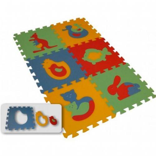 Malý Genius Pěnový koberec MAXI 6 zvířata I. cena od 220 Kč