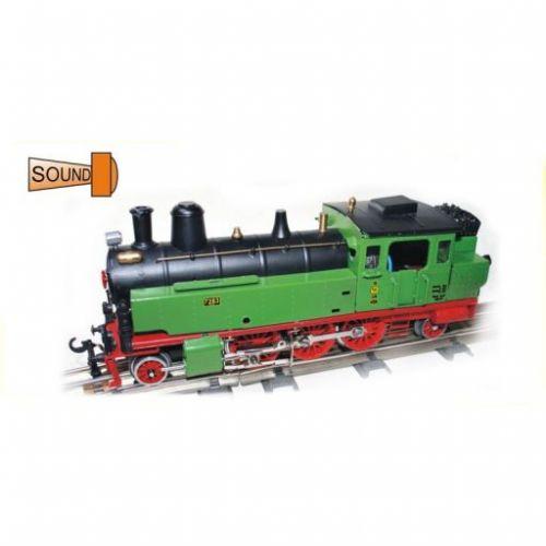 Merkur Toys Parní lokomotiva tendrová K.P.E.V