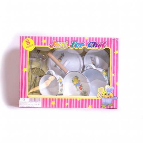 Legler Plechové dětské selské kuchyňské nádobí cena od 79 Kč