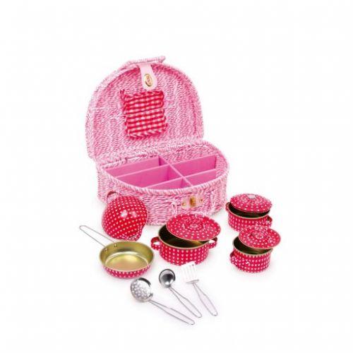 Legler dětské kovové nádobí v luxusním balení cena od 649 Kč