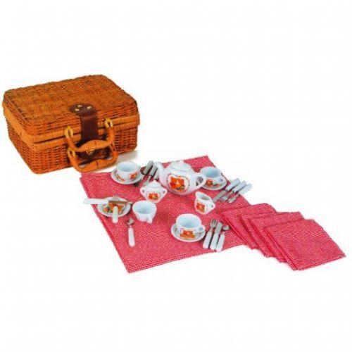 Legler Luxusní dětská porcelánová pikniková sada nádobí cena od 580 Kč