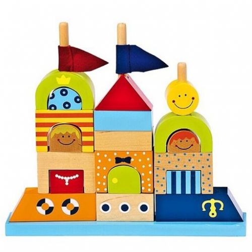 Legler Skládací hrad pro děti cena od 392 Kč