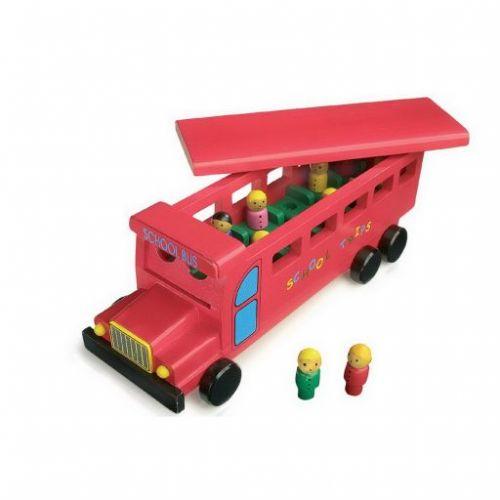 Legler Dřevěný školní autobus cena od 649 Kč