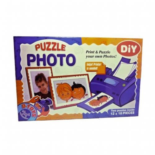 D-TOYS Foto puzzle 2 in 1