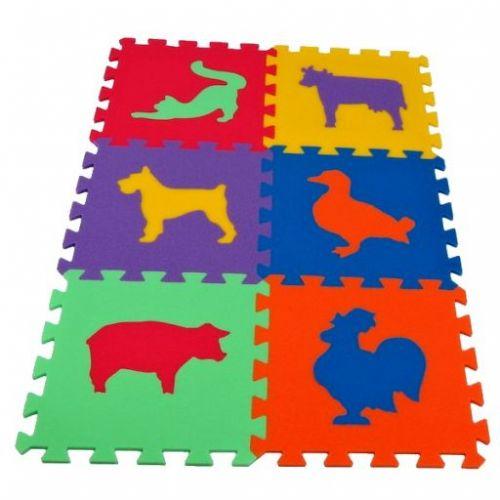 Malý Genius Pěnový koberec MAXI 6 Zvířata 3 cena od 220 Kč