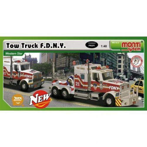 Beneš a Lát Monti System 42.2 Western Star Tow Truck F.D.N.Y.