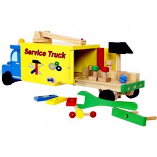 Legler Dřevěné nákladní auto Truck Service cena od 818 Kč