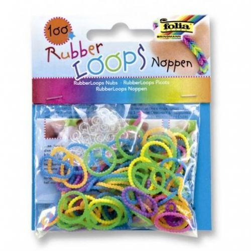 Folia Gumičky Loops 100 ks Noppen 3D cena od 57 Kč