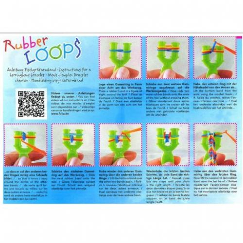 Folia Gumičky Loops 500 ks cena od 45 Kč