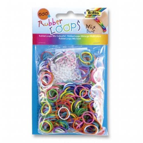 Folia Gumičky Loops 600 ks