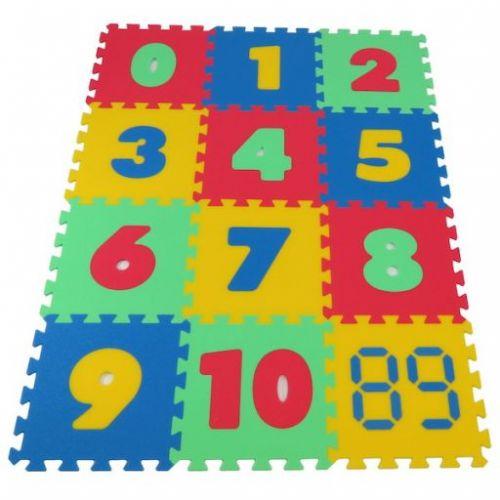 Malý Genius Pěnový koberec Maxi čísla cena od 452 Kč
