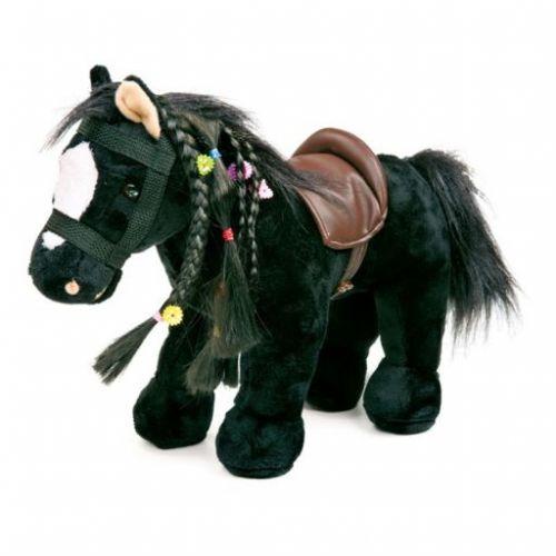 Legler Poník velký černý s hřívou a doplňky cena od 665 Kč