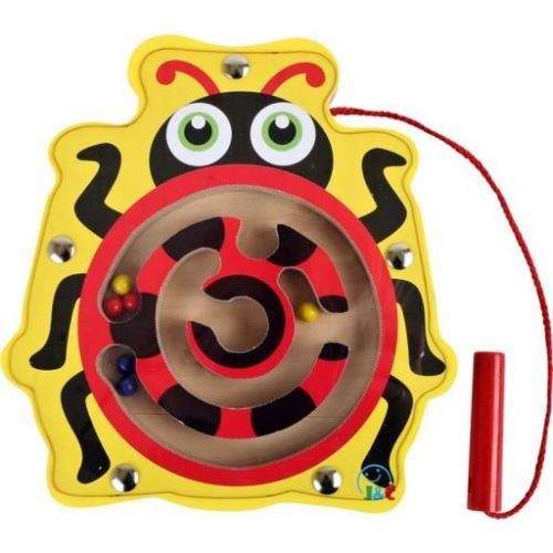 Legler Dřevěný motorický labyrint Beruška cena od 169 Kč